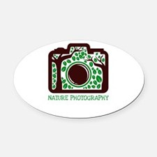 nature photography Oval Car Magnet