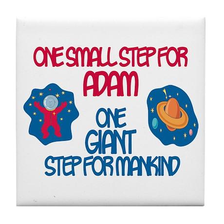 Adam - Astronaut Tile Coaster