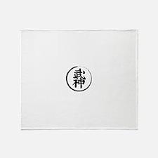 bujin Throw Blanket