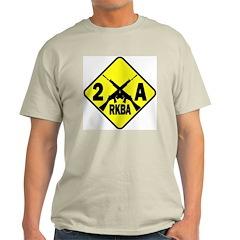 Second Amendment Zone Ash Grey T-Shirt