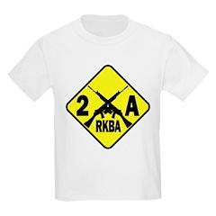 Second Amendment Zone Kids T-Shirt