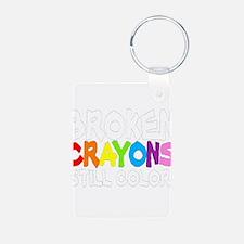 BROKEN CRAYONS STILL COLOR Keychains