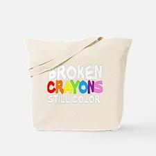 BROKEN CRAYONS STILL COLOR Tote Bag