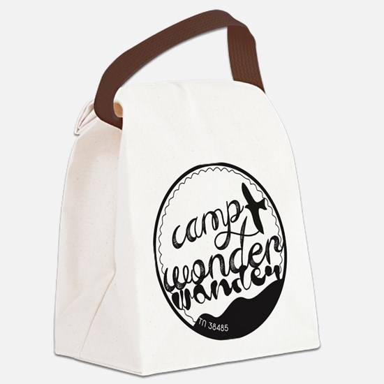 Funny Camp Canvas Lunch Bag