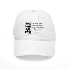 Abraham Lincoln 19 Baseball Cap