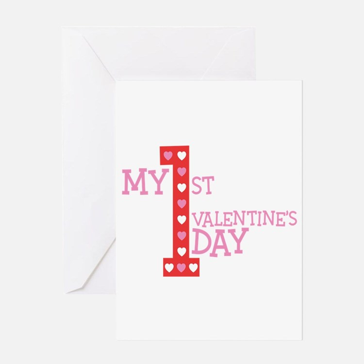 My First Valentine's Day Greeting Card