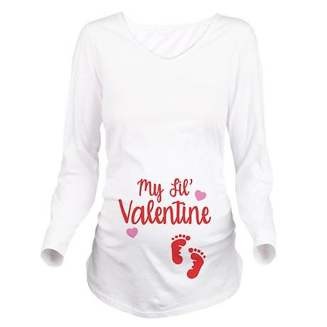 My Lil Valentine Maternity Shirt