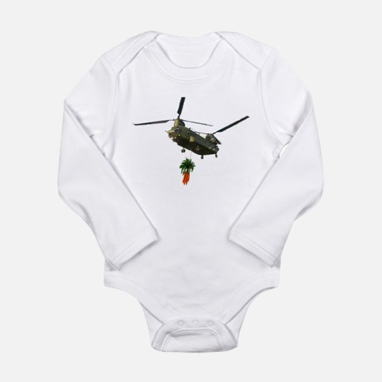 Chinook slingloading carrots Infant Creeper Body S