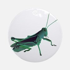 GRASSHOPPER Round Ornament