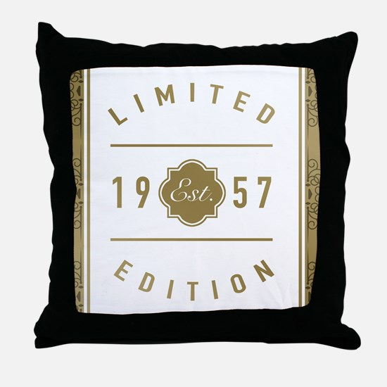 1957 Limited Edition Throw Pillow