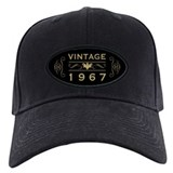 50th birthday Baseball Cap with Patch
