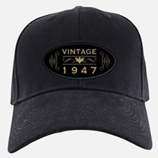 1947 Birth Year Baseball Hat