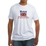 British Fitted Light T-Shirts