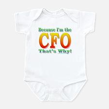 Because I'm the CFO Infant Bodysuit