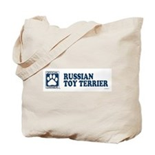 RUSSIAN TOY TERRIER Tote Bag