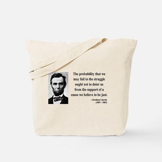 Abraham Lincoln 20 Tote Bag