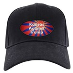 Kansas Against Trump Baseball Hat Black Cap