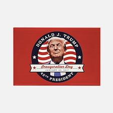 President Trump - Inauguration Da Rectangle Magnet