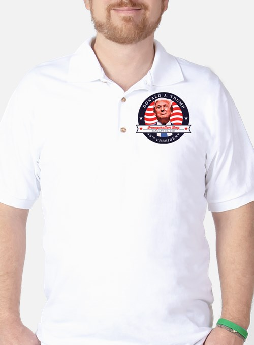 President Trump - Inauguration Day Golf Shirt