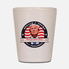 President Trump - Inauguration Day Shot Glass