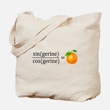 tan(gerine) math Tote Bag