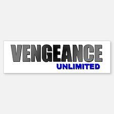 Vengeance Unlimited Bumper Bumper Bumper Sticker
