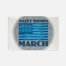 Nasty Woman March Magnets