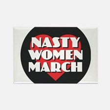 Nasty Women March Magnets