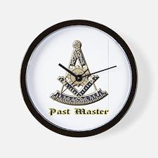 A F & A M Past Master Wall Clock