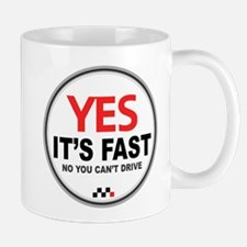 Austin-Healey -Yes It's Fast Mugs