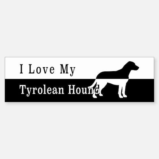 Tyrolean Hound Bumper Bumper Bumper Sticker