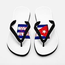 Cuban Pride Flip Flops