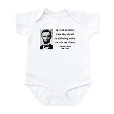 Abraham Lincoln 21 Infant Bodysuit