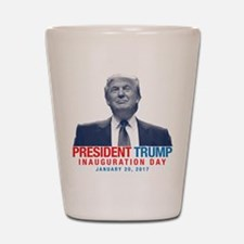 President Trump - Inauguration Day Shot Glass