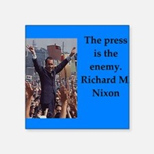 Richrd nixon quotes Sticker