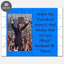 Richrd nixon quotes Puzzle