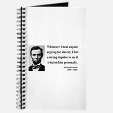 Abraham Lincoln 22 Journal