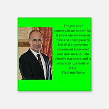 Vladiir Putin Quote Sticker
