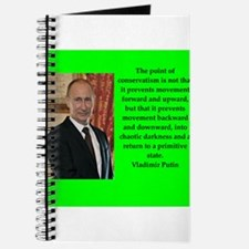 Vladiir Putin Quote Journal