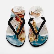 Heavenly Angel & Violin Flip Flops