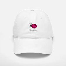Pink Ladybug Baseball Baseball Baseball Cap