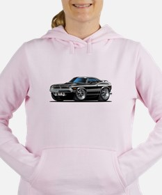 1970 Cuda Black Car Sweatshirt