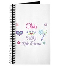 Olivia - Daddy's Little Princ Journal