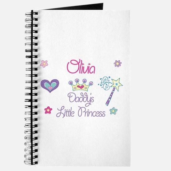 Olivia - Daddy's Little Princ Journal