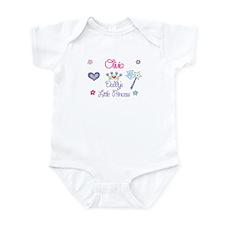 Olivia - Daddy's Little Princ Infant Bodysuit