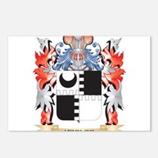 Keeler Coat of Arms - Fam Postcards (Package of 8)