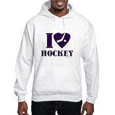 I love Hockey Hoodie
