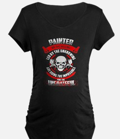 Painter We The Willing Led By Th Maternity T-Shirt