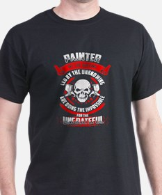 Painter We The Willing Led By The Unknowin T-Shirt