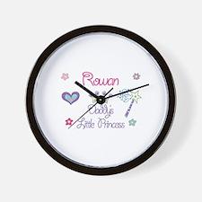 Rowan - Daddy's Little Prince Wall Clock
